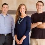 Aron Barbey - professor of psychology; Marta Zamroziewicz, graduate student; and Chris Zwilling, postdoc